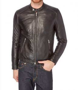 Black Leather Jacket best jacket for men