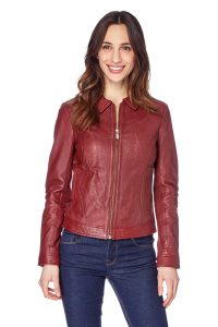 Red Leather Jacket best jacket for women